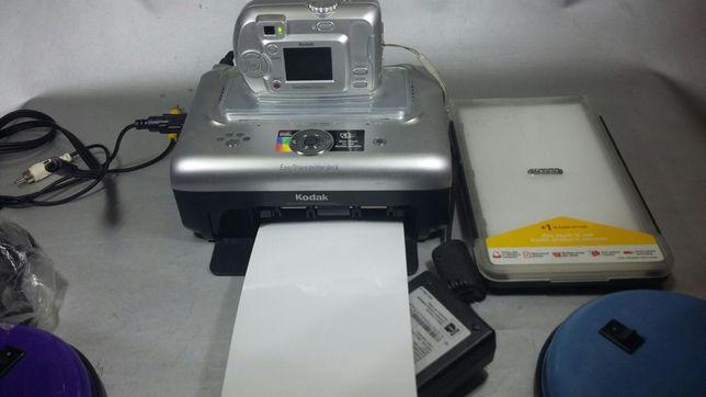 Kodak stație foto cu încărcător și hârtie netestat