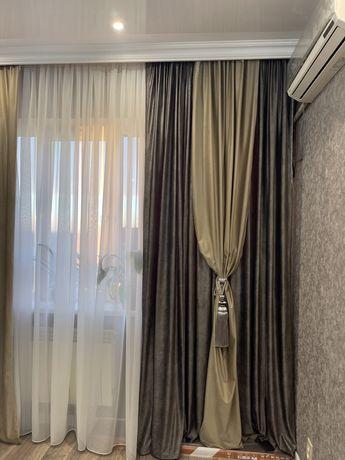 Добротные велюровые шторы