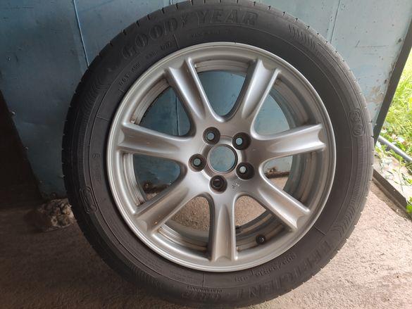 Джанти с гуми Субару