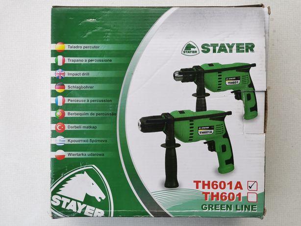 Mașina de înșurubat și găurit bormașina  Stayer TH601A  600w