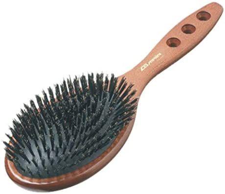 Четка за коса с естествен косъм от палисандър
