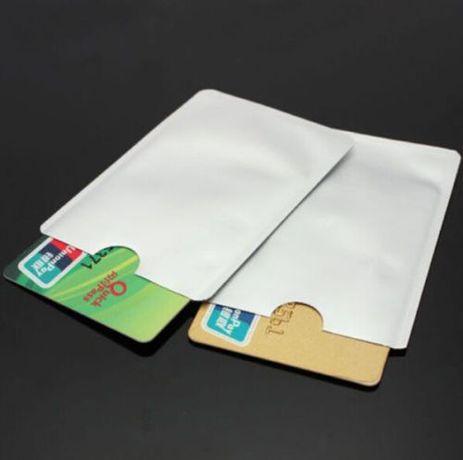 Калъф протектор за безконтактни кредитни и дебитни карти защитно фолио