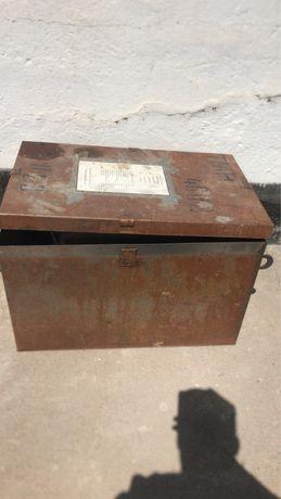 Ящик железный Трансформатор