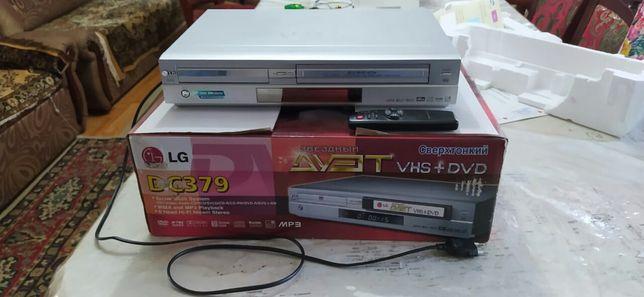 Видеомагнитафон Универсиальный  LG(Звездный Дует VHS+DVD)
