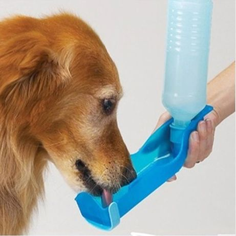 Бутилка за вода за куче , автоматичена поилка за кучета 250 мл.