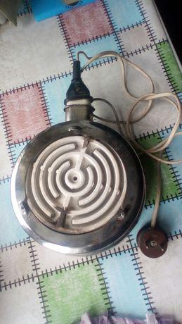 Электро плитка на спирали