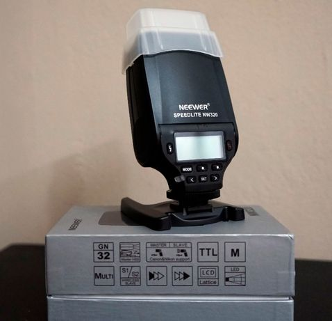 Blit blitz Neewer Speedlite NW320 Sony