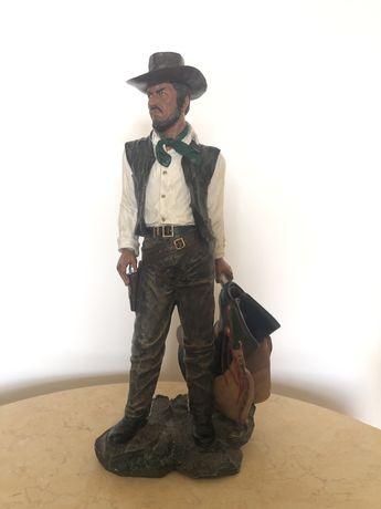 Statueta cowboy,din compozit
