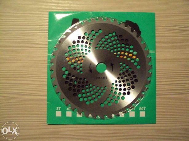Disc cu carburi metalice ( vidia ) motocoasa trimmer