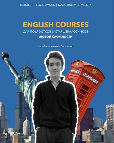 Репетитор английского дистанционно. Пробный урок - бесплатно!