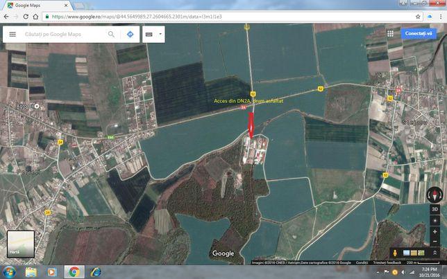 Vând spatii producție/depozitare și teren Perieti