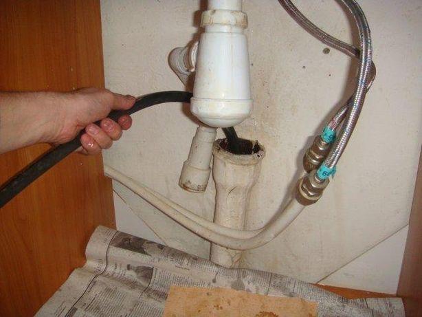 Прочистка канализации, чистка труб канализации, разморозка, промывка