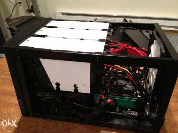 Home Server NAS ITX Quad Core I5 120GB SSD, 5 * 3TB HDD