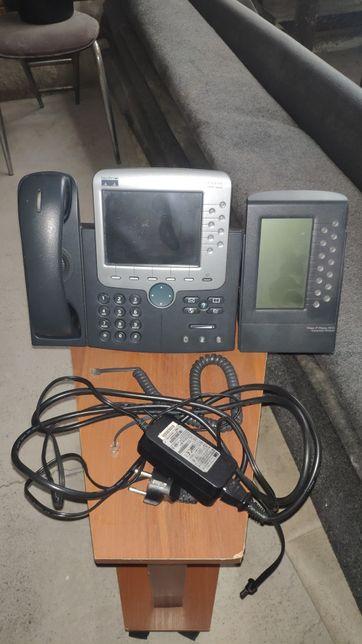 Cisco 7970 + доп. станция.