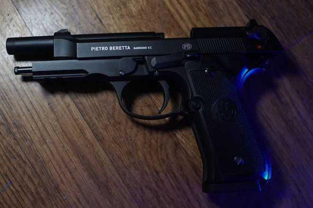 Pistol AIRSOFT 4,7jouli(Test nu vrajala)Beretta M9/90tw Co2 Slide OTEL