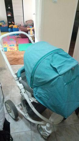 бебешка количка лорели s-700 с кош за новородено