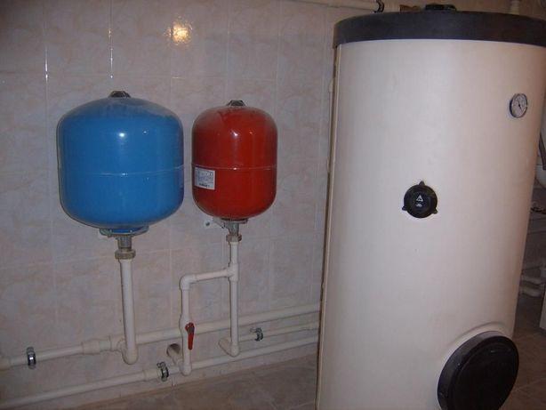 Промывка, опрессовка отопительной системы и ГВС частного дома