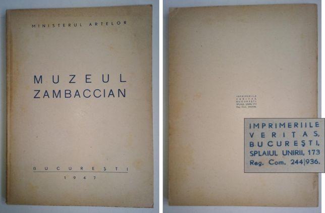 Muzeul ZAMBACCIAN 1947, catalog