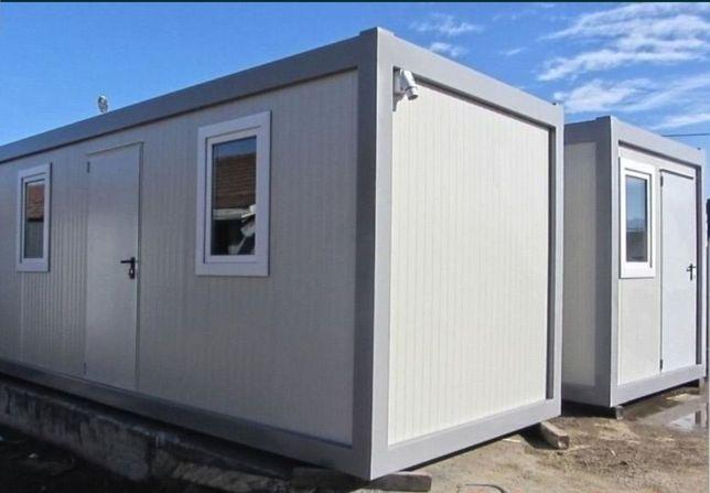 Vand container stil modular sau standard birou cabina paza de locuit