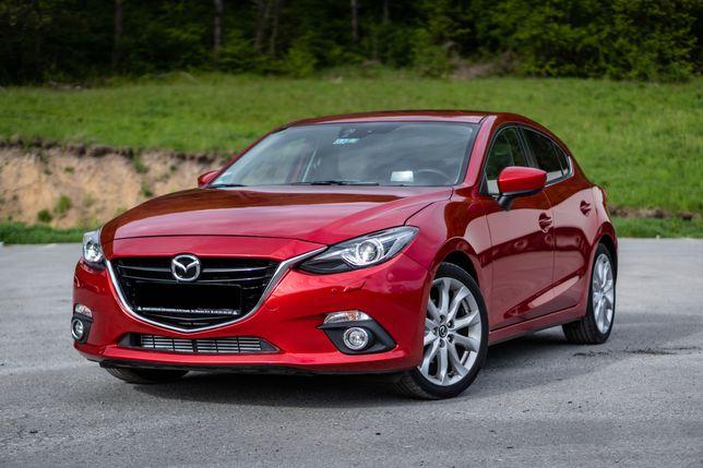 Mazda 3 HUD Navigatie 2set jante Automat 89000km Piele crem Revolution
