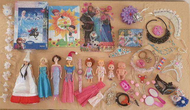 Продаю игрушки для девочки все за 3500т
