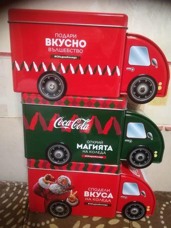 Нови камиончета на Кока кола