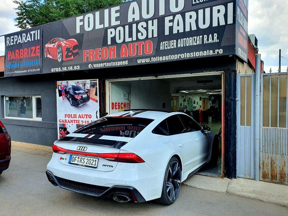 Folie Auto - Polish Faruri matuite