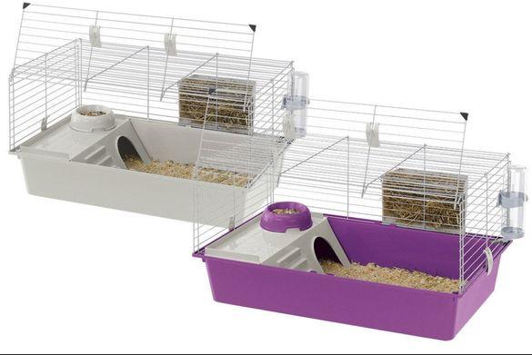 НОВИ!!!79×48×42.Клетка за зайче,морско свинче или таралеж ferplast