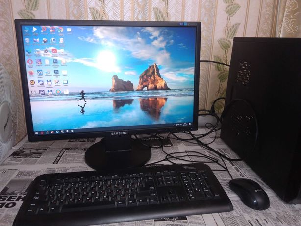 Core i3 с большим монитором
