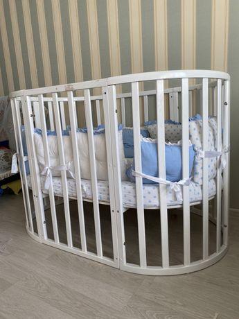 Детская кроватка 6 в 1
