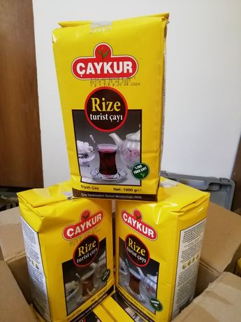 Турецкии  листовой чай 1 кг высшего качества