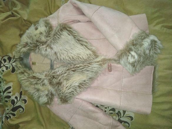 Дамско топло палто s