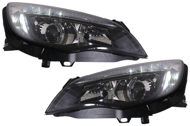 Faruri LED DRL Opel Astra J (2010-2012) Negru Plug&Play