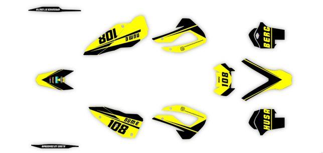 Kit Stickere Husaberg 2011-2012  TE 125 ,250 ,300