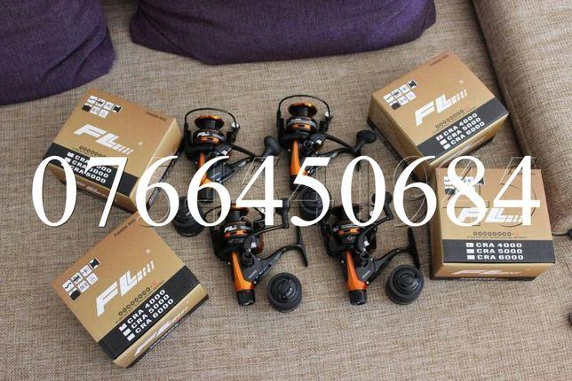 Set 4 Mulinete FL Tokushima CRA Toata Seria 4 , 5 , 6 Tambur Metal