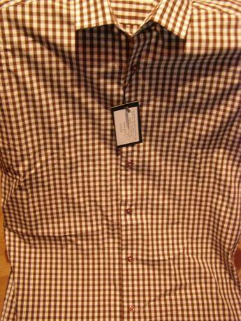 Camasa noua, cu maneca lunga, 37-38, casual, calitate Jermyn's /schimb