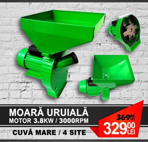 Moara Electrica cu Ciocanele Ruseasca De Macinat Uruiala 3.8KW 300kg/h