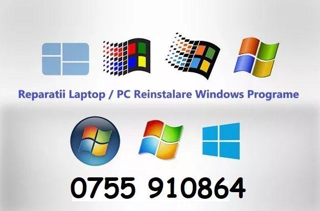 Reparatii PC | Laptop | Instalare Windows | Configurare Router |Camere