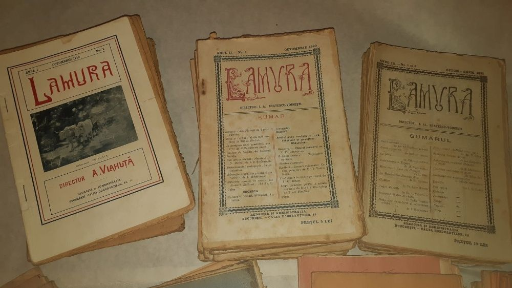 Revista Lamura Valea lui Dan - imagine 1