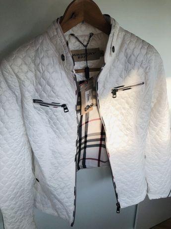 Куртка Burbery белая женская новая р-р М