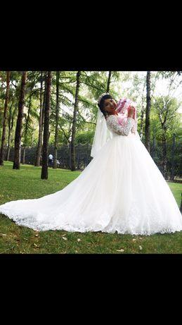 Свадебная  платья