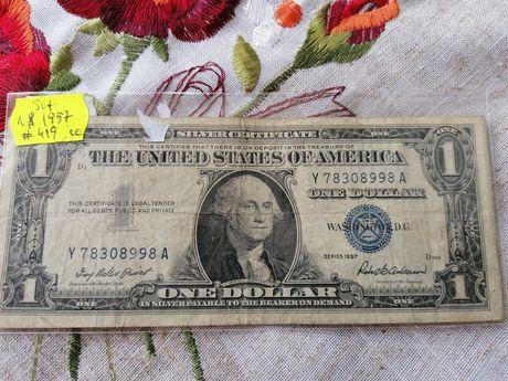 1 dolar 1957