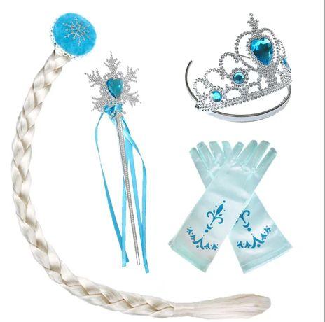 НОВИ!Оригинални аксесоари към роклите на Елза и Ана от Frozen.