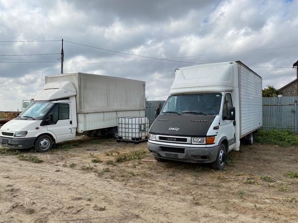 Iveco daily 35c15 si ford tranzit recent aduse in tara aer cond 5m
