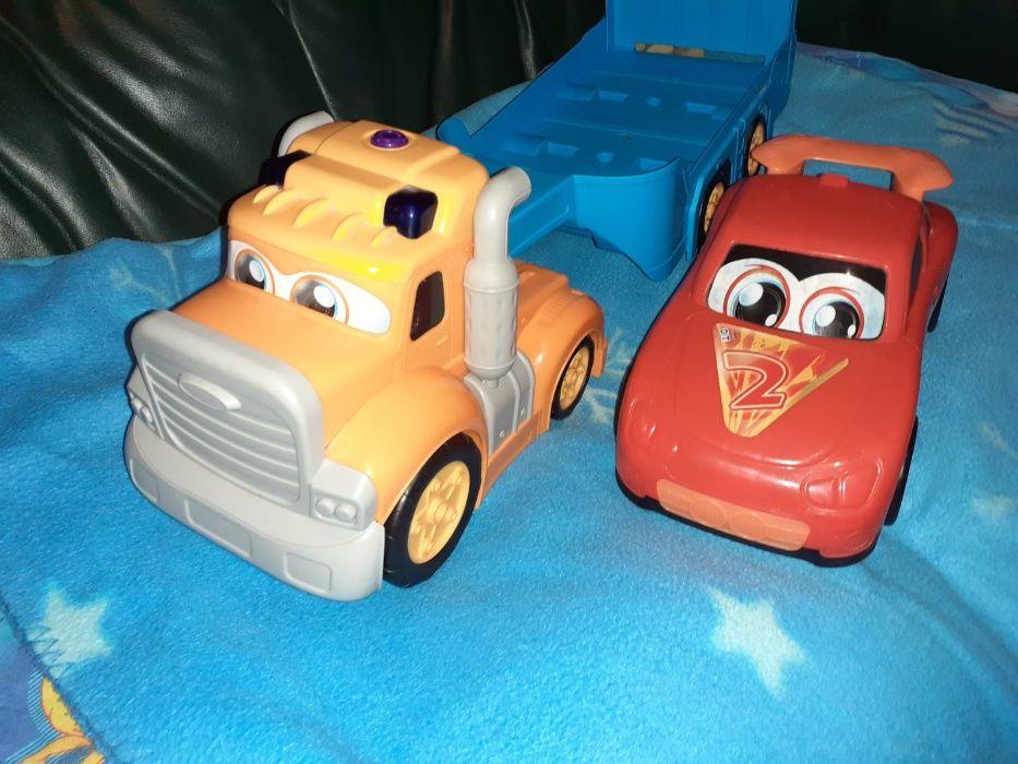 """Set masini de jucarie camion + remorca + masina curse """"Cars"""" Bucuresti - imagine 1"""