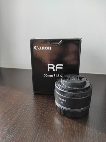 Obiectiv Canon RF 50mm F 1.8 STM