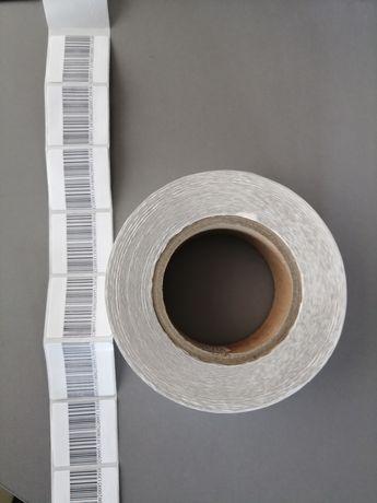 Защитни RF етикети 4х4см с баркод