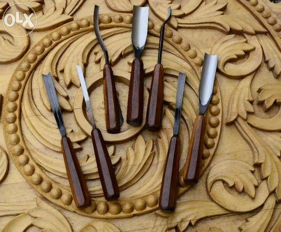 Длета за дърворезба -различни комплекти