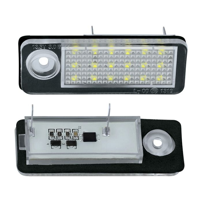 Lampi numar LED pentru Audi A4 , S4 , RS4 , A6 , S6 , RS6 , set 2 buc