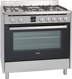 Кухонная плита Vestel VFM96X1 серебристая